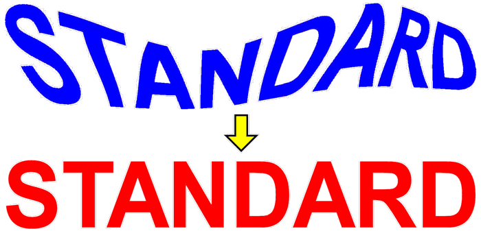 best matching image standard
