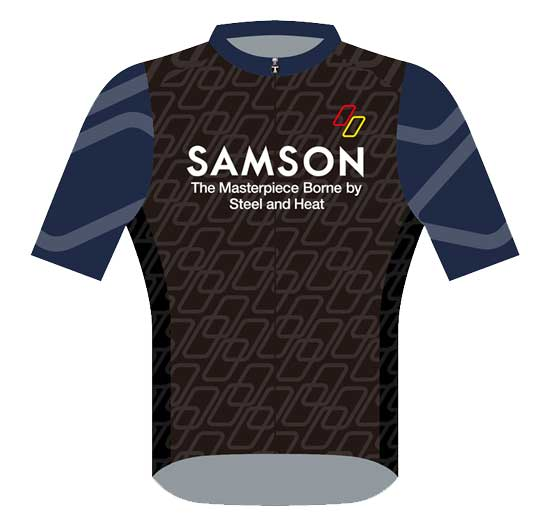 SAMSON RACE JERSEY front